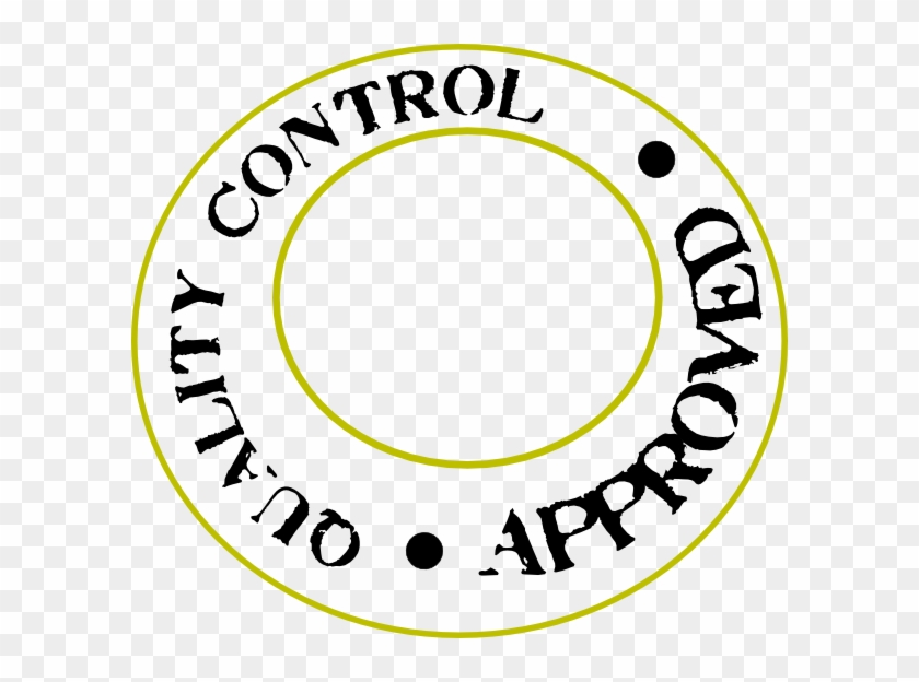 Quality Control New Clip Art At Clker - Quality Control Rejected #120513