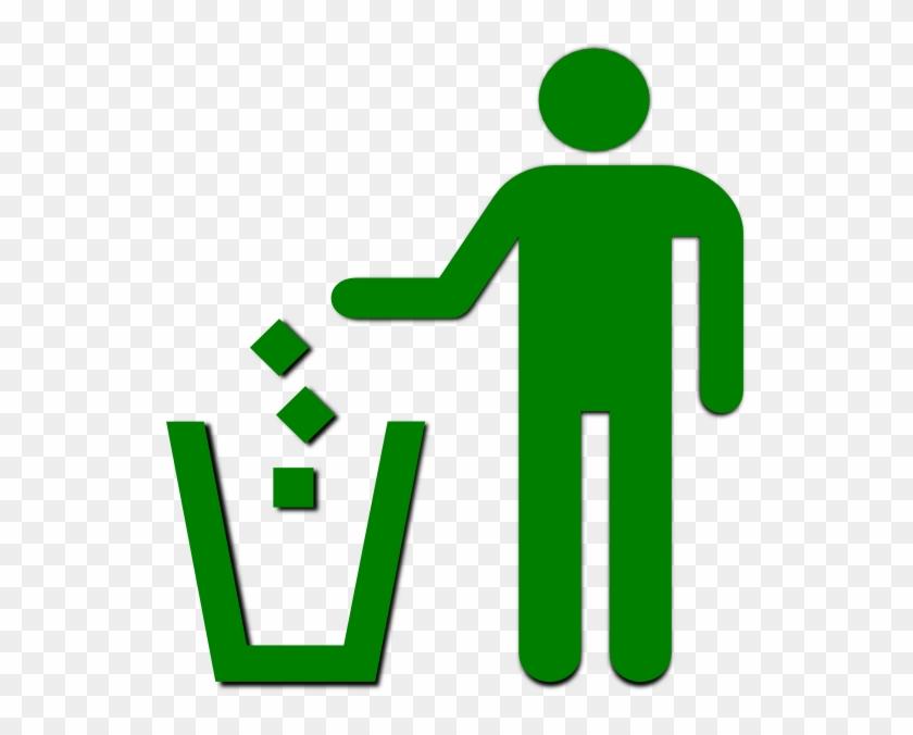 Pleasant Idea Trash Clipart Clip Art At Clker Com Vector - Clean As You Go #120528
