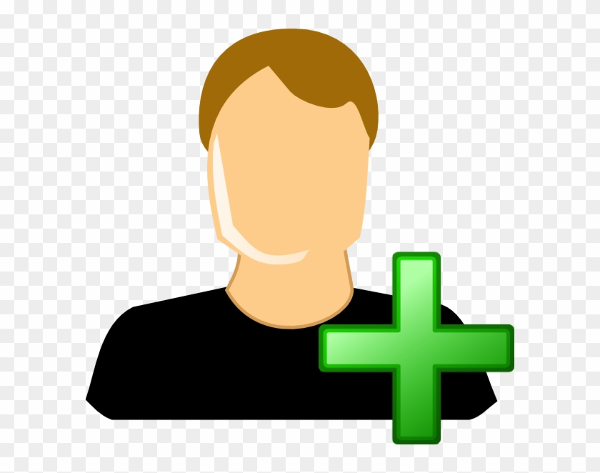 Add User Male Clip Art - 2 User Clipart #120635
