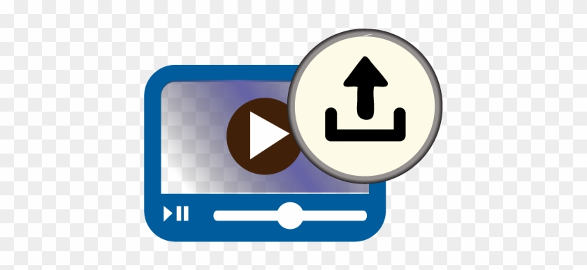 Media Viewer Icon - Video Upload Icon Png #634739