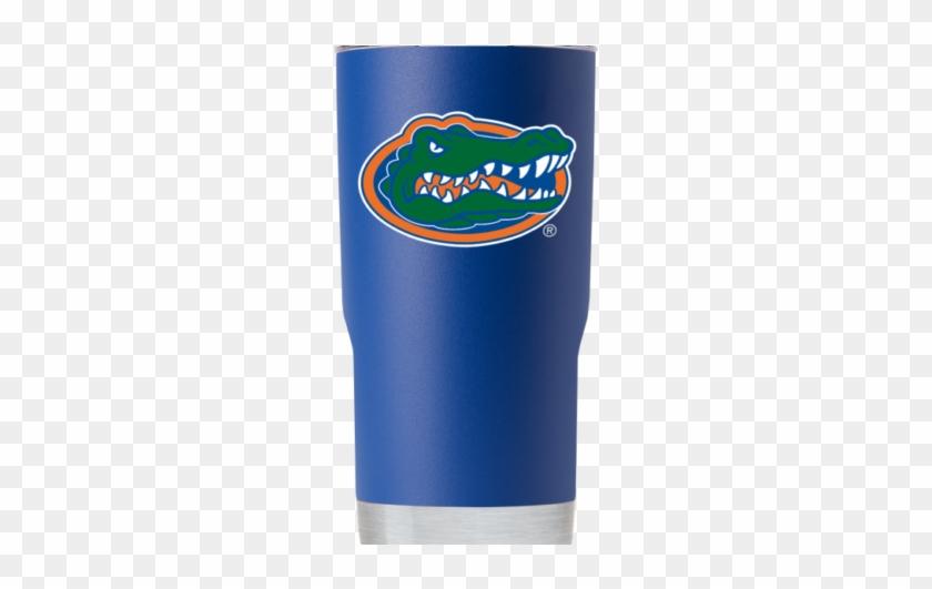 Florida Gator Head 20 Oz Blue Tumbler - Tumbler #634781