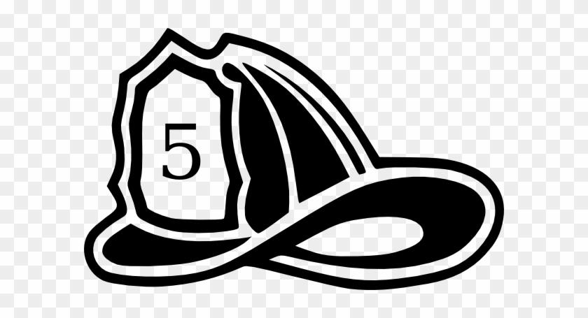 Fire Hat Clipart - Fire Helmet Clip Art #634893