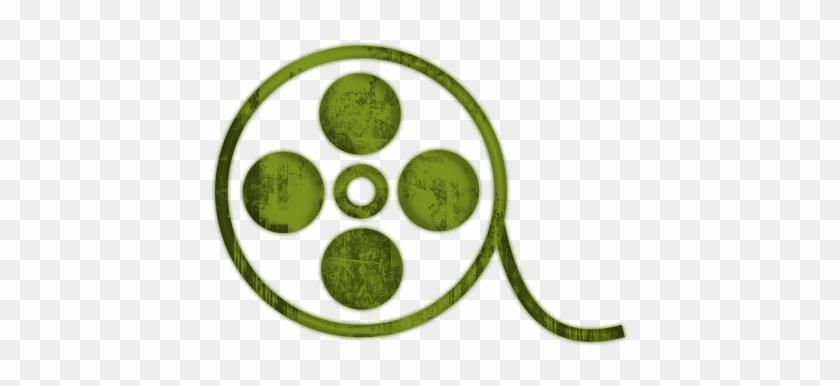 Movie Reel Film Reels Icon Icons Etc Clip Art Clipartix - Film Icon Red #635169