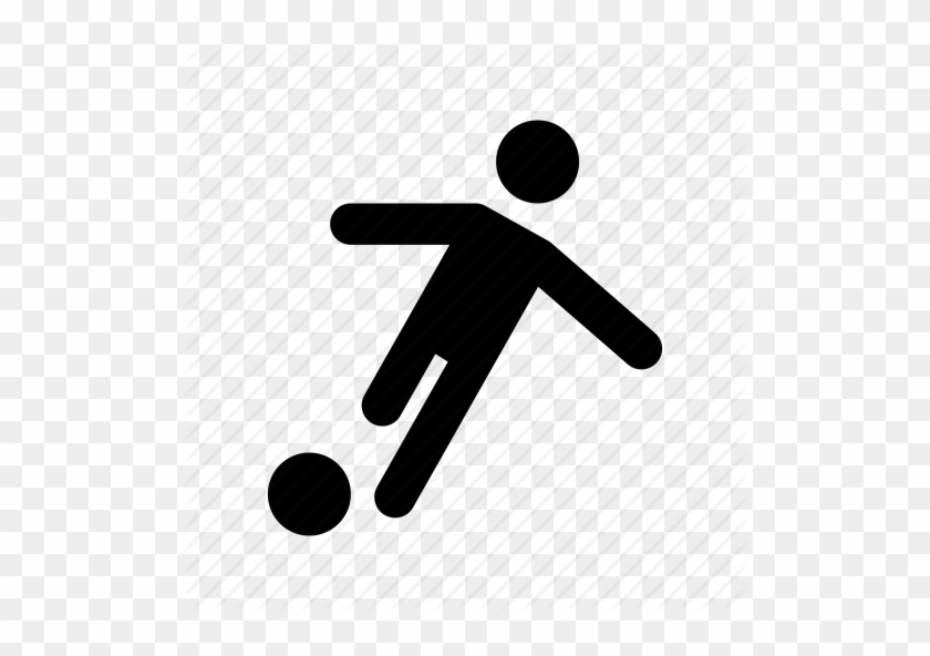American Football Player Running With The Ball - Person Playing Football Icon #635508