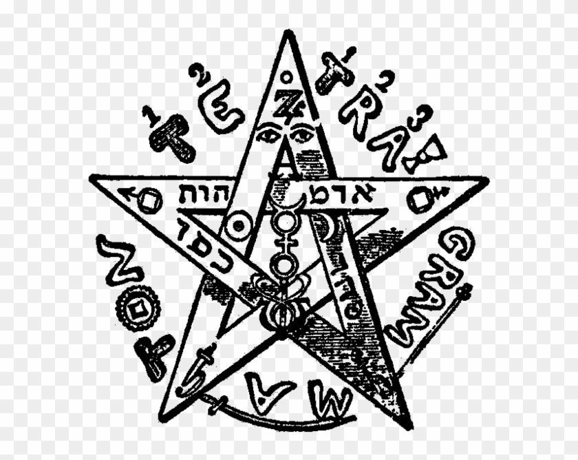 Levi's Pentagram - Pentagram Eliphas Levi #635803