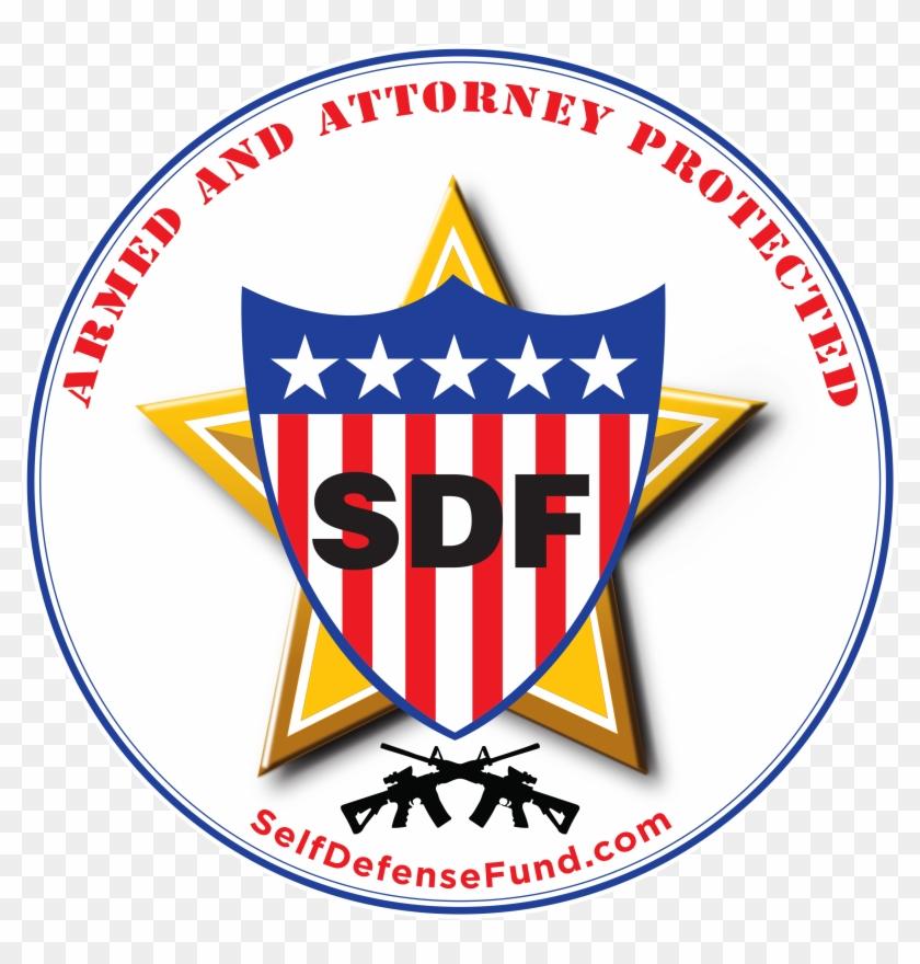 Sdf Logo Drawn Lg - Self Defense Fund - Free Transparent PNG Clipart