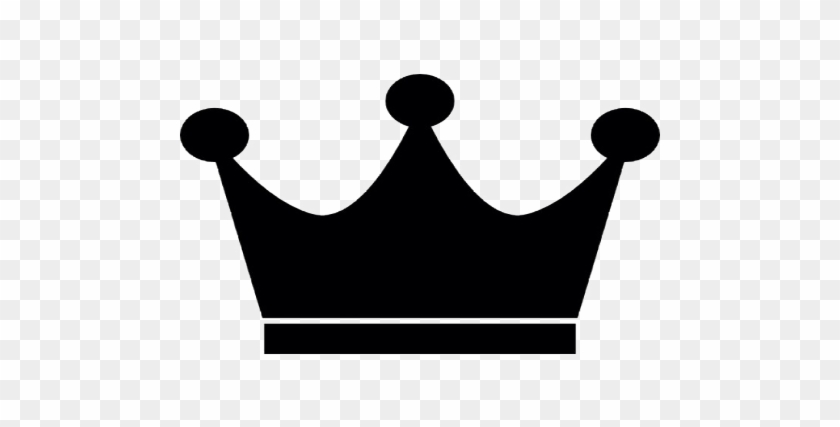 Prom King - Crown Emoji Black And White - Free Transparent