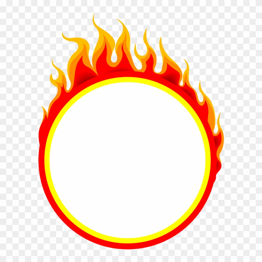 Flame Ring Of Fire Clip Art - Fire Ring Png #636855