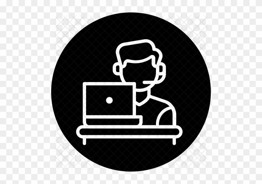 Customer Care Desk Icon - Customer Service #637901