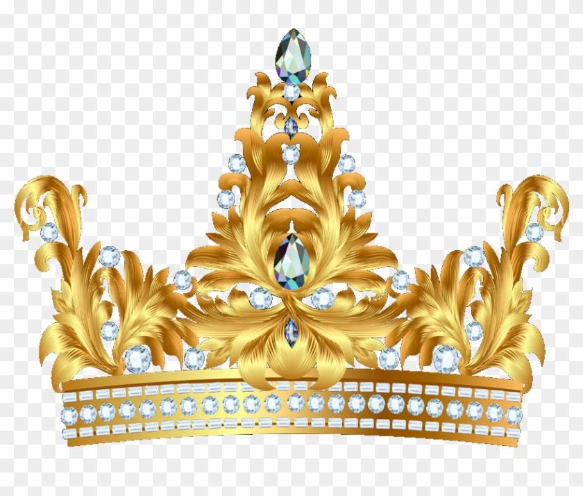 La Corona De La Reina Elizabeth, La Reina Madre Clip - Gold Princess Crown Png #638297