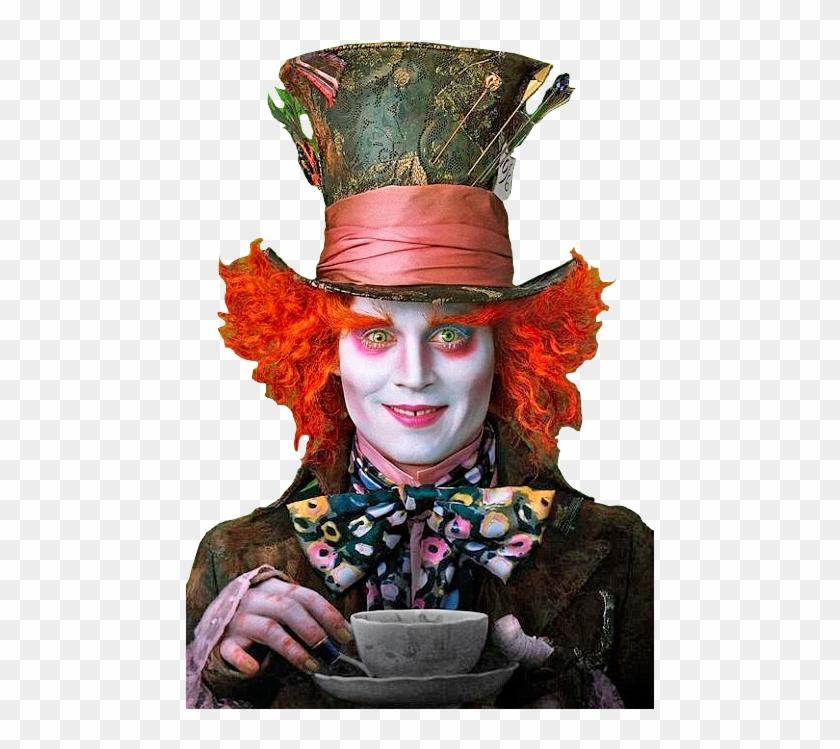Com Alice In Wonderland Johnny Depp Hatter Alice In Wonderland Mad Hatter Free Transparent Png Clipart Images Download