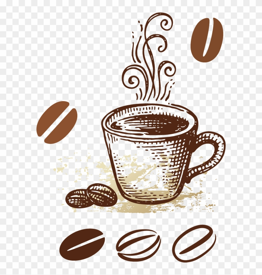 Coffee Tea Cafe Breakfast Morning Free Vector Coffee Free Transparent Png Clipart Images Download
