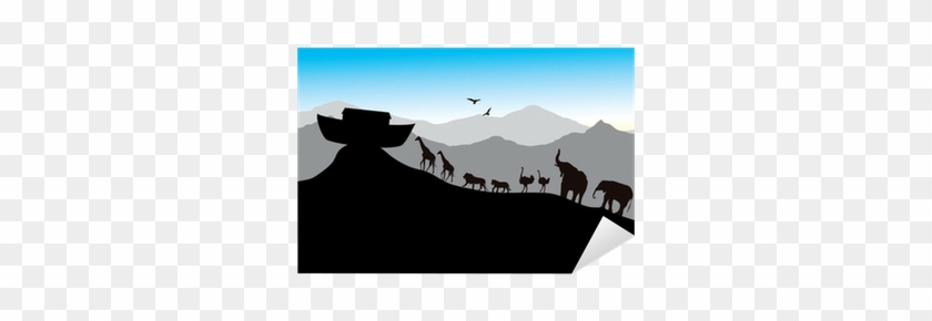 Noah's Ark, Bible Stories, Vector Image, Each Pair - Read-rhyme-remember: A Poetic Overview #639176