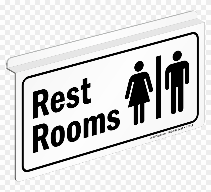 rest rooms sign bathroom door signs printable free transparent
