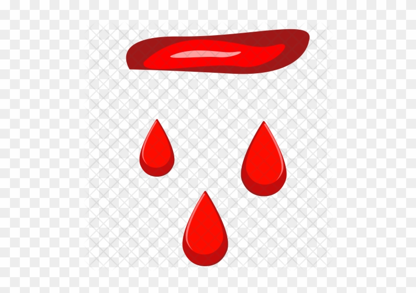 Blood Icon - Blood Drops - Free Transparent PNG Clipart