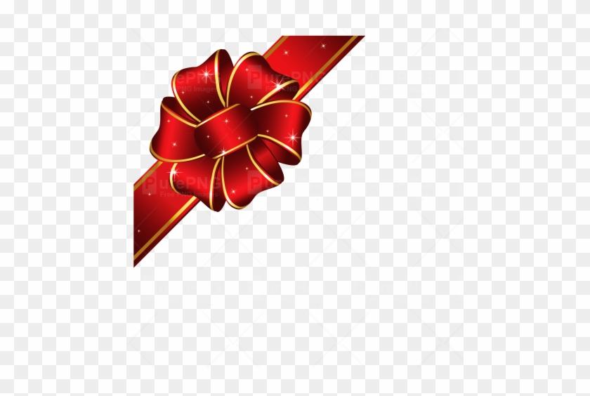 Red Loop Ribbon Png Image - Icon Gift Ribbon Png #640359