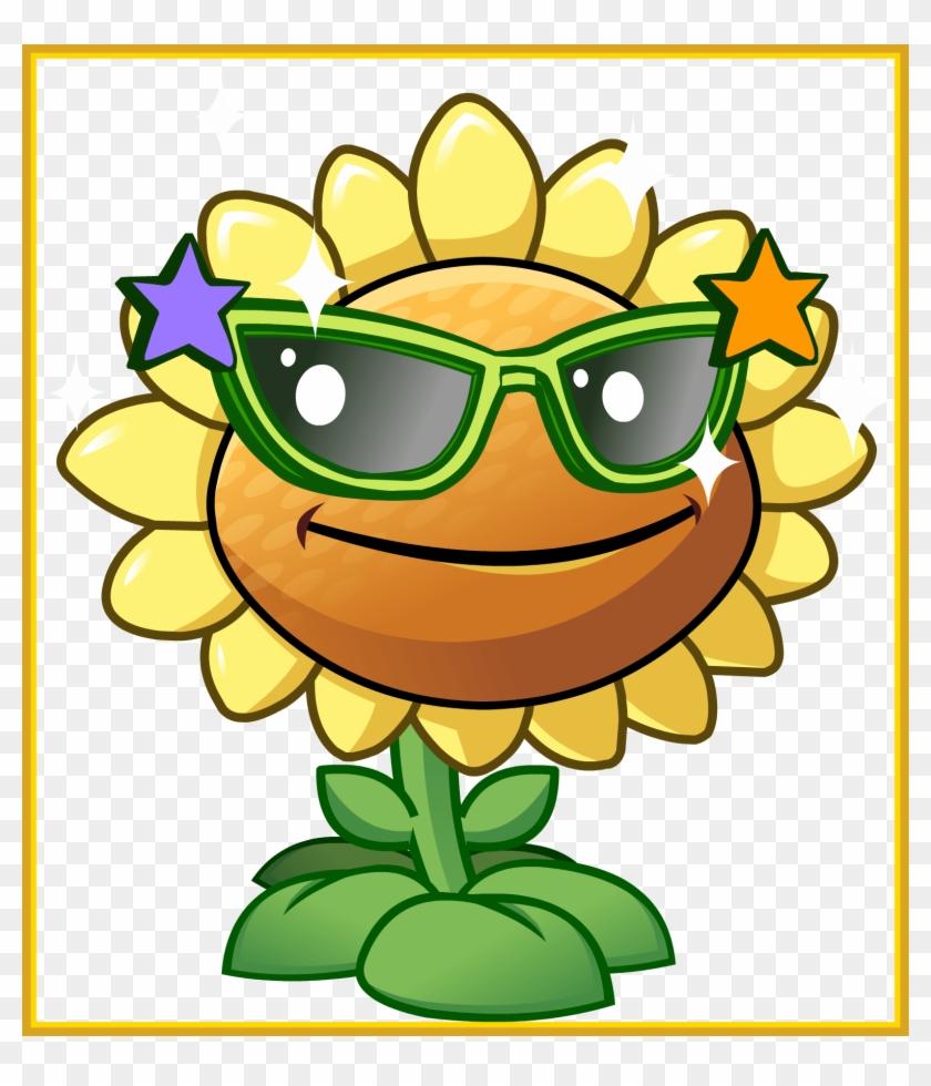 Inspiring Sunflower Clipart Plant Vs Zombie Pencil - Plants Vs Zombies Gif #641283