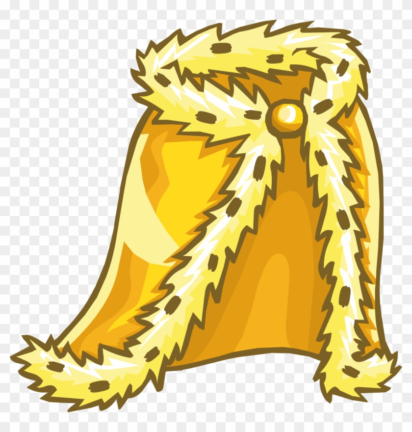 Royal Golden Robe - King Robe Clipart - Free Transparent PNG Clipart