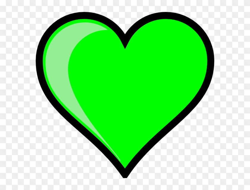 Neon Green Bubble Heart - Heart In Bubble Letters - Free Transparent