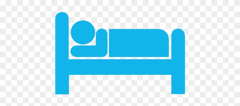 Overnight Services Bed Icon Png Blue Free Transparent Png