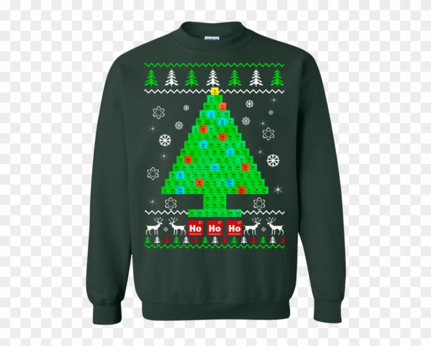 Chemist Tree Sweater - Chemistry Christmas - Chemist Tree Sweater #642384