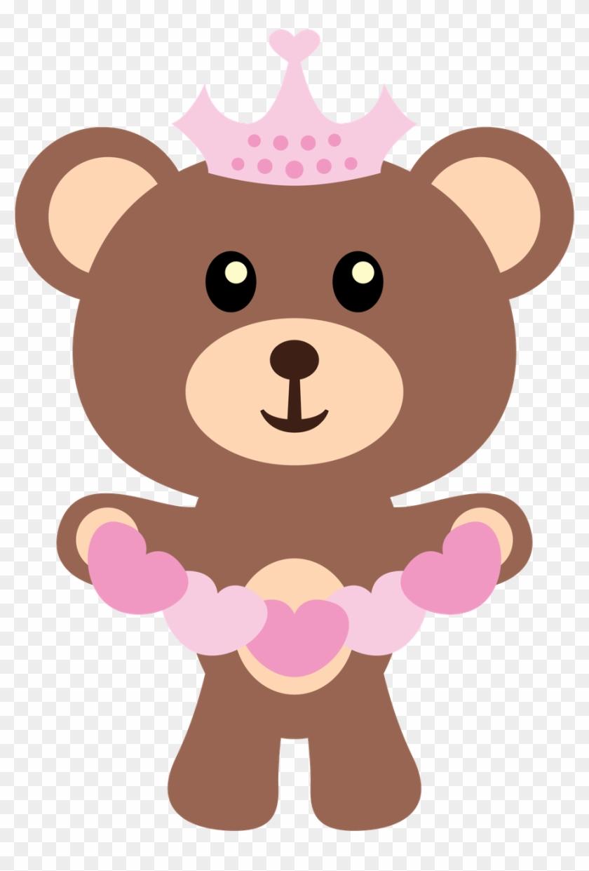 Ursinhos E Ursinhas - Cute Teddy Bear Clipart #642427