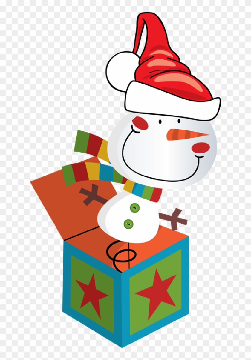 In On - Christmas Jack In The Box Clipart #643098