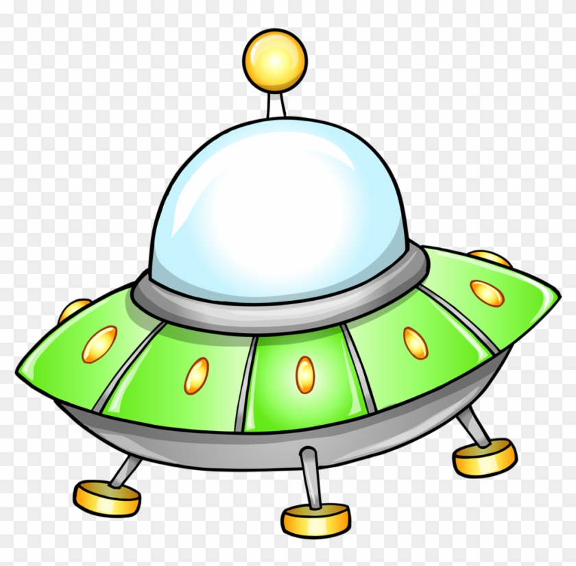Space - Flying Saucer Clipart #644002