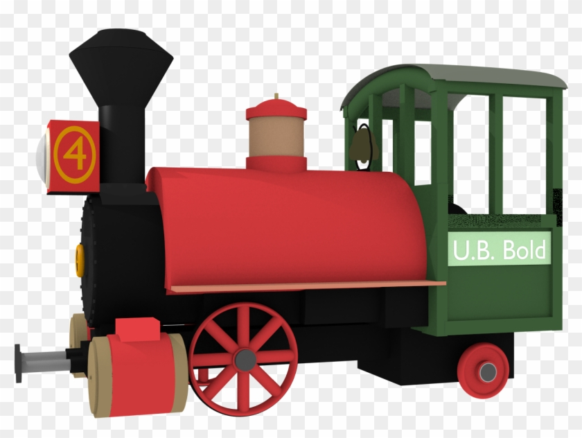 Big Thunder Mountain Train Models - Big Thunder Mountain Railroad Train Png #644204