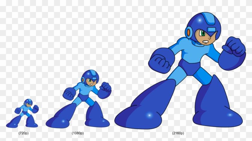 Megaman Hd Sprite Test By Blac Dragoon Mega Man Hd Sprites Free