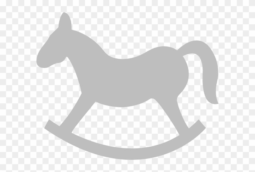 Rocking Horse Silhouette - Rocking Horse Clip Art #644540