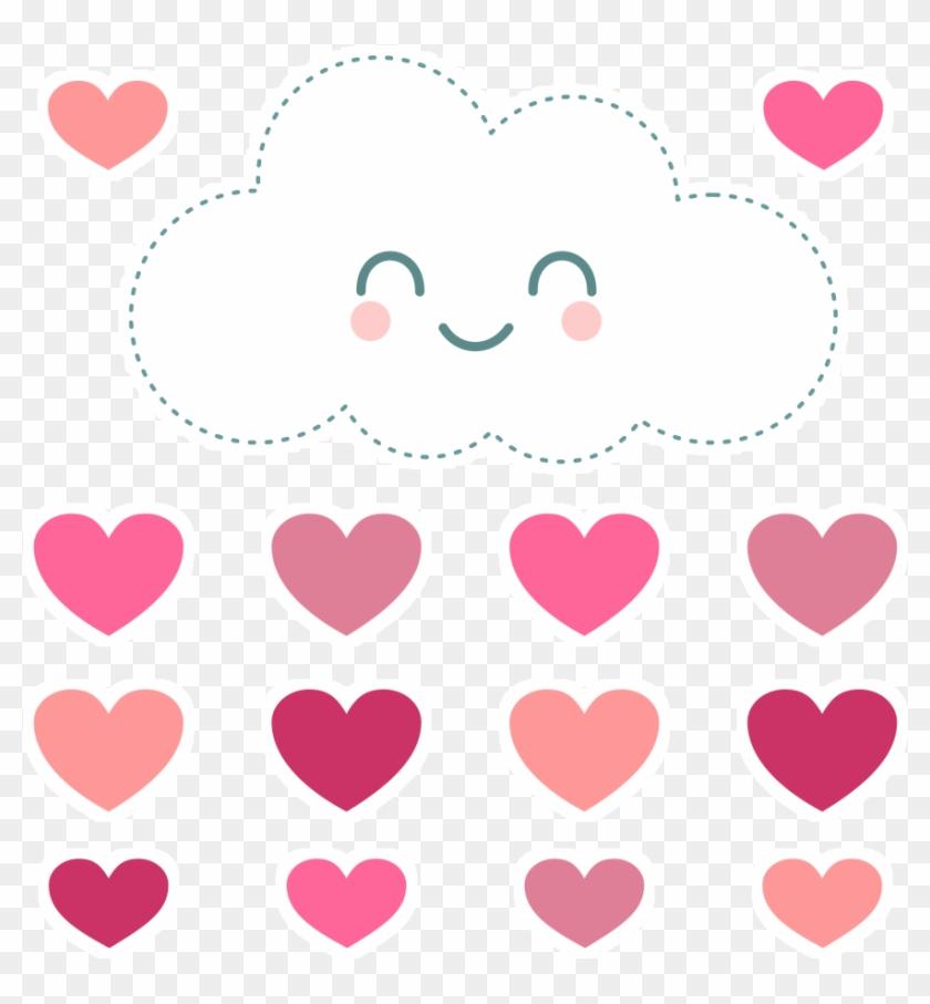 Adesivo Chuva De Amor De Incantarena - Coração Chuva De Amor #645326