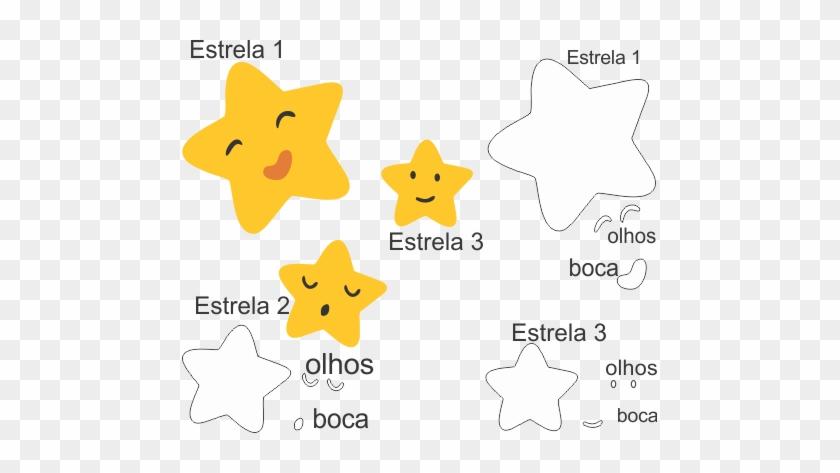 Molde Chuva De Amor Eva - Estrela Chuva De Benção Png #645359