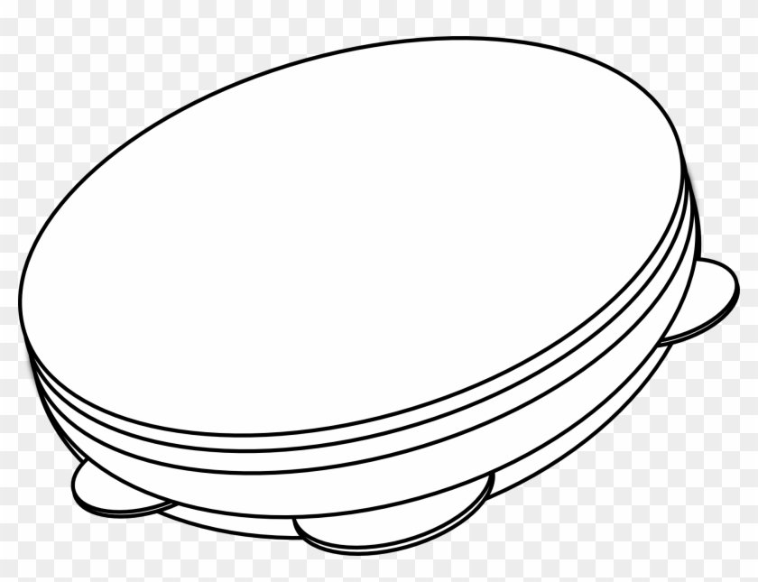 Tambourine Drawing Musical Instruments Drum Clip Art