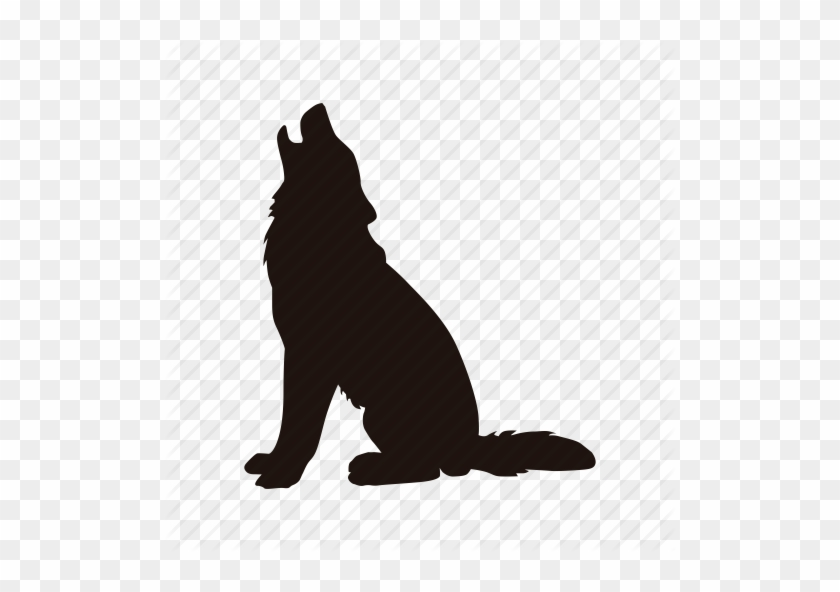 Dog, Howl, Wolf, Zoo Icon Icon Search Engine - Gray Wolf