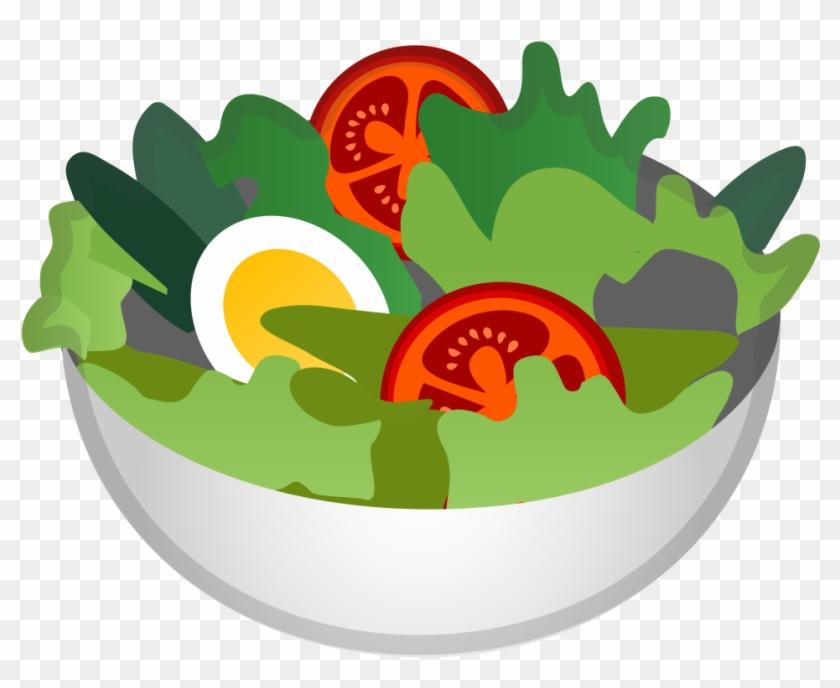 Green Salad Icon Google Salad Emoji Free Transparent Png Clipart Images Download