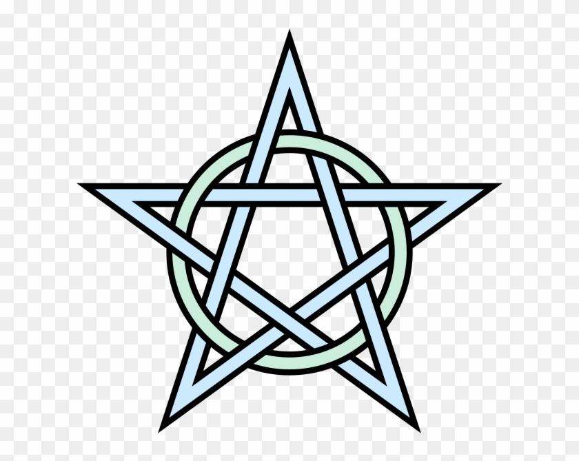 Pentagram - Wiccan Pentagram #646421