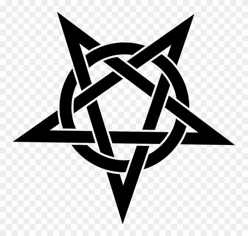Pentagram Symbol #646446