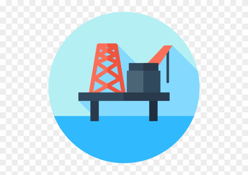 Oil Platform Free Icon - Png Oil Platform Icon #646638