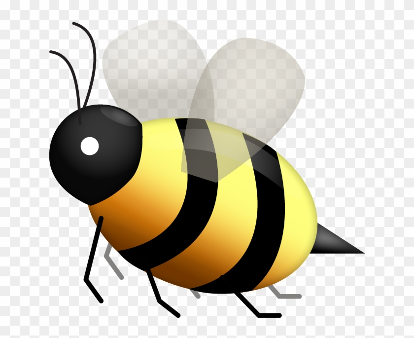 Honey Bee Emoji - Free Transparent PNG Clipart Images Download