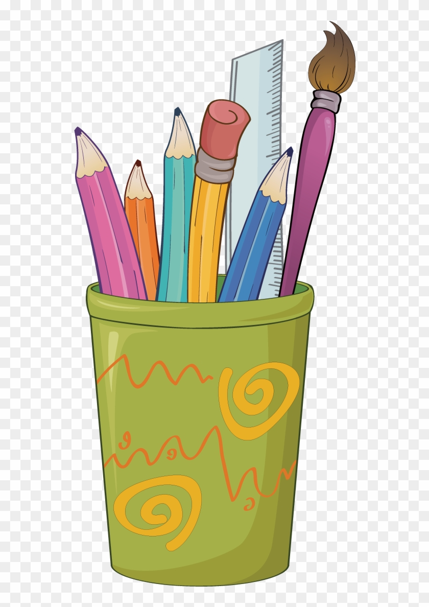 Paper Colored Pencil Drawing Clip Art - Pencil And Crayons Clipart #647578