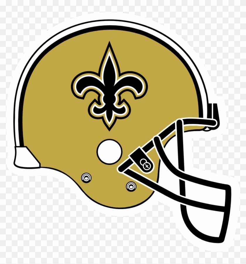 Helmet Clipart Saints New Orleans Saints Helmet Logo Free