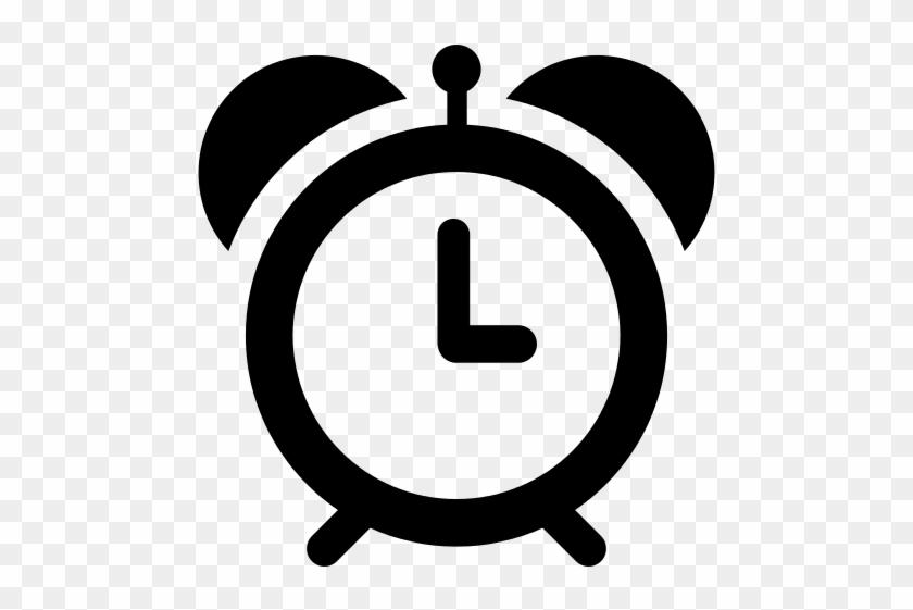 Alarm Clock Icon Myiconfinder - Iphone Remind Me Icon #648380