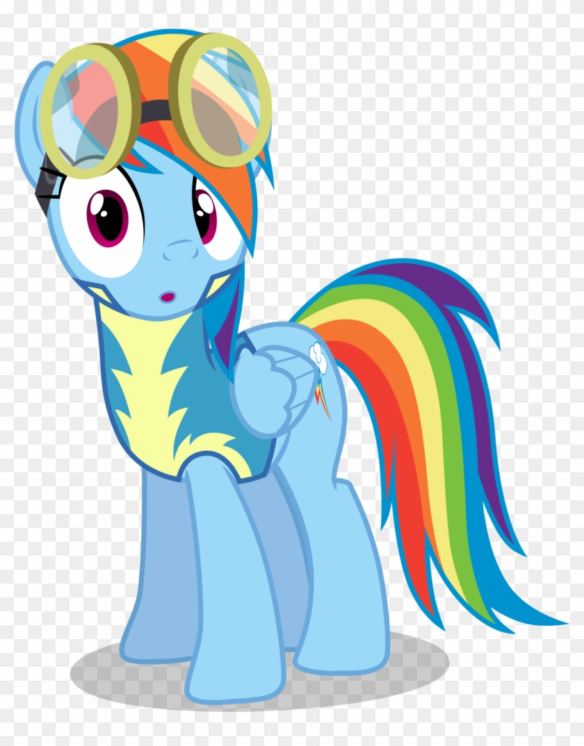 Wonderbolt Cadet Shocked My Little Pony Rainbow Dash Wonderbolt Free Transparent Png Clipart Images Download The wonderbolts were tired in the locker room. little pony rainbow dash wonderbolt