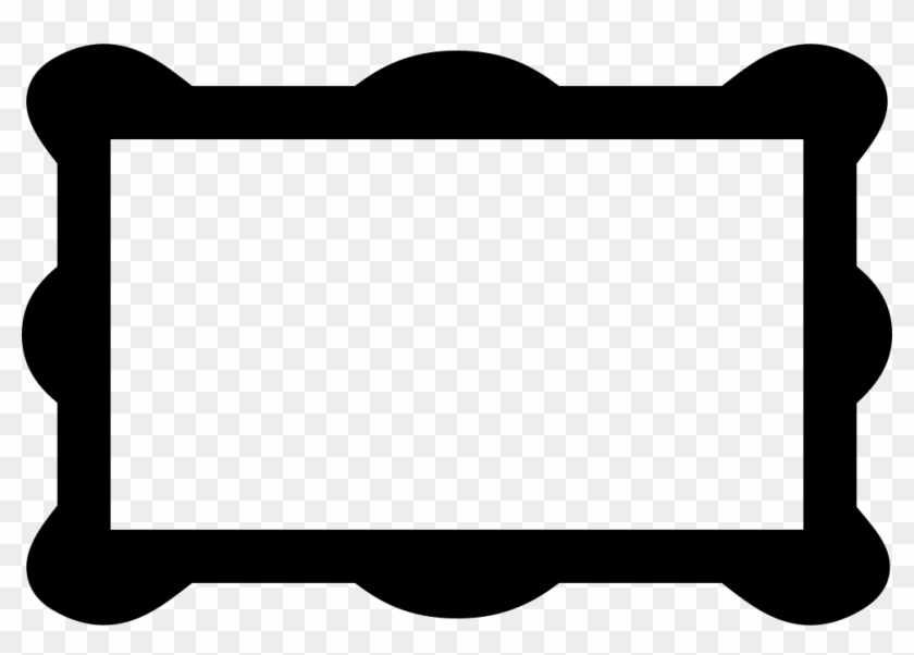 Png File - Rounded Rectangle Icon Frame Png #649228
