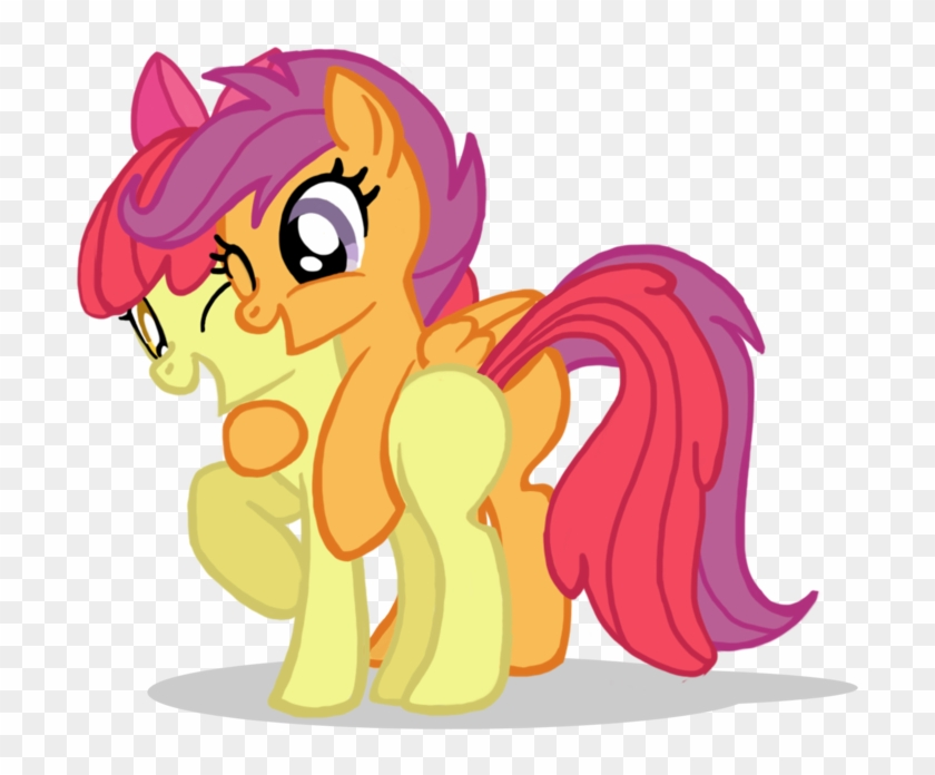 Scootaloo X Apple Bloom Free Transparent Png Clipart Images Download The other ponies in this set were only released this one time, however, scootaloo was released many more times. scootaloo x apple bloom free