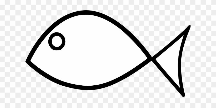 Fish Animal Jesus Simple Fish Fish Fish Fi - Easy Fish Coloring Pages #649640