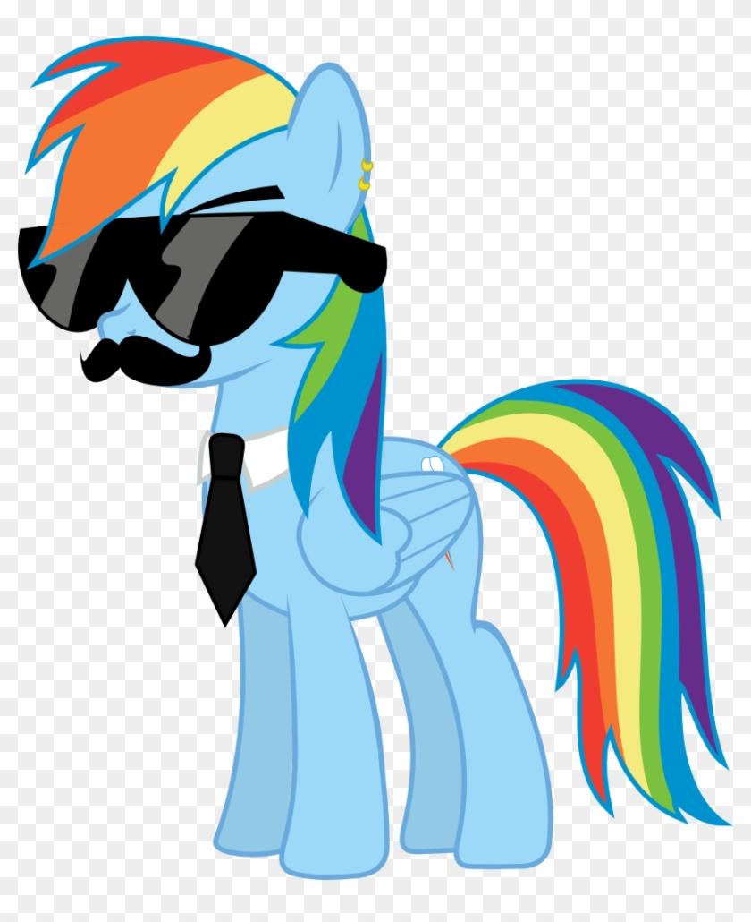 My Little Pony Wallpaper Rainbow Dash Swag Mlp Rainbow Dash Swag
