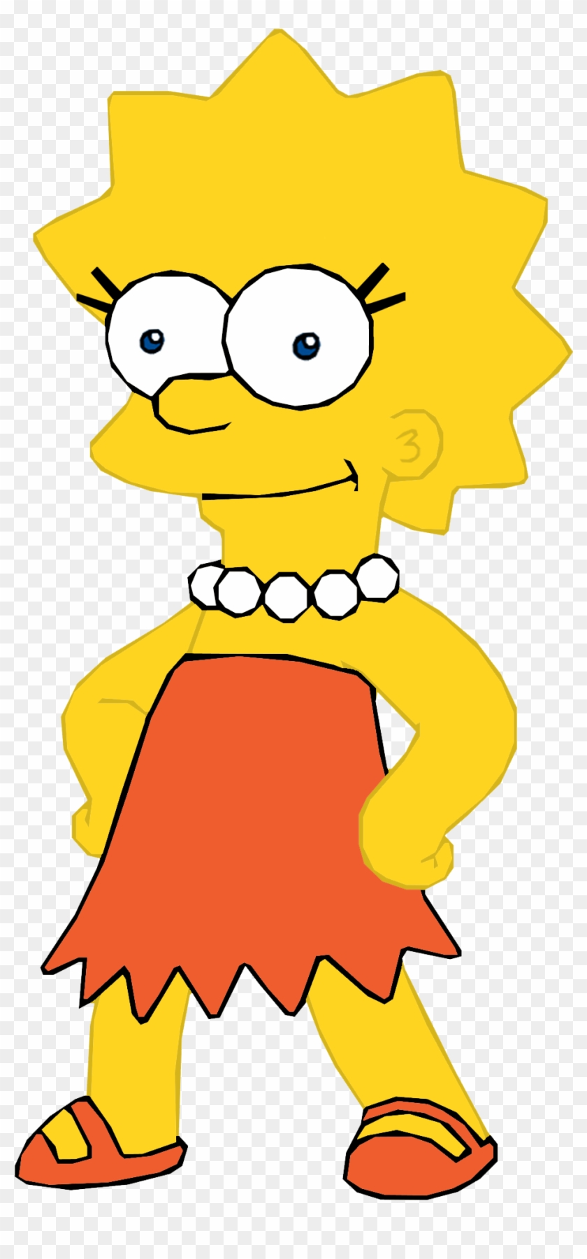 Lisa Simpson In Pnf/milo Murphy's Law Style - Chris Griffin Lisa Simpson #650471