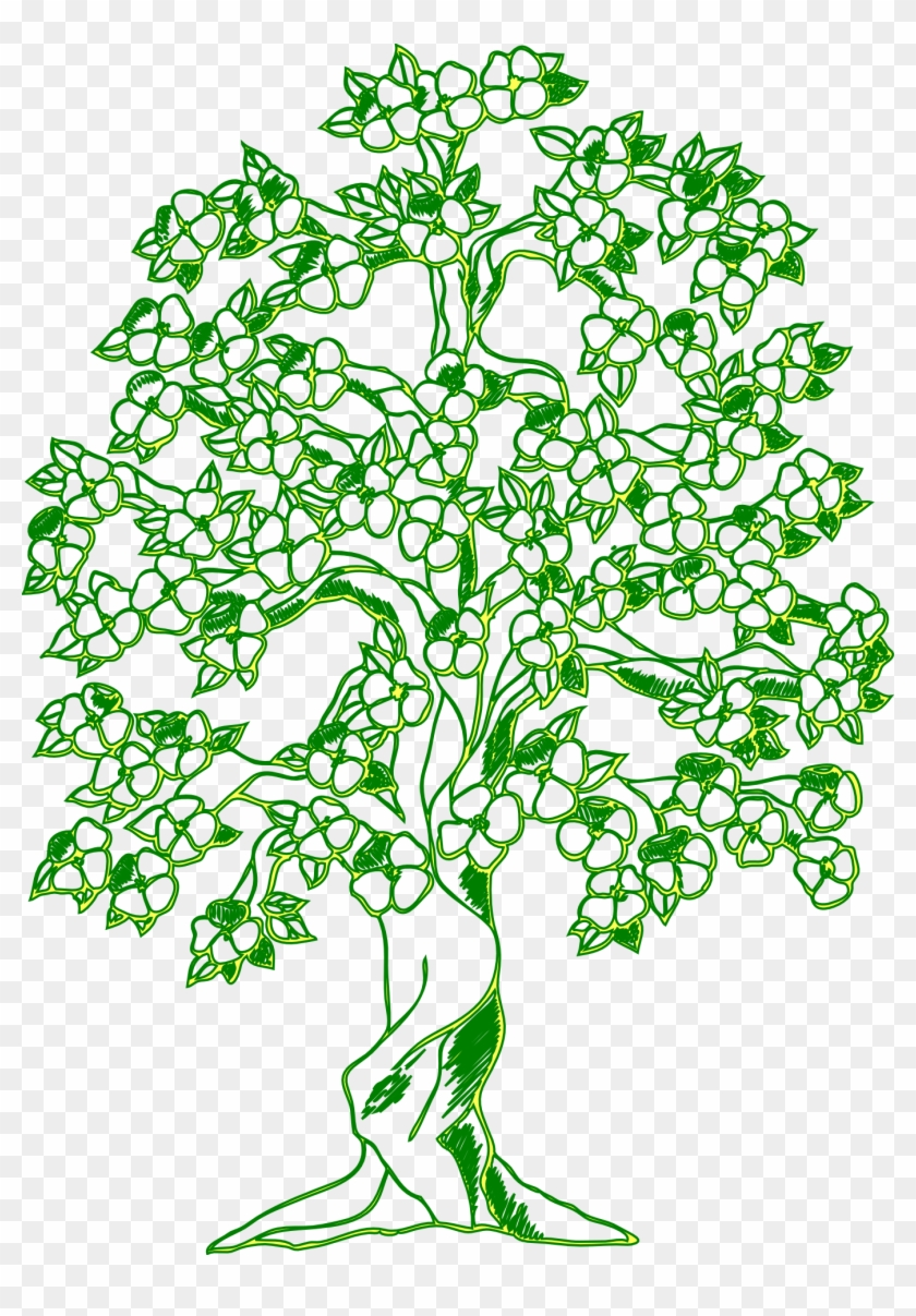 Coloring Book Tree Wall Decal Child - Coloring Book Tree Wall Decal ...